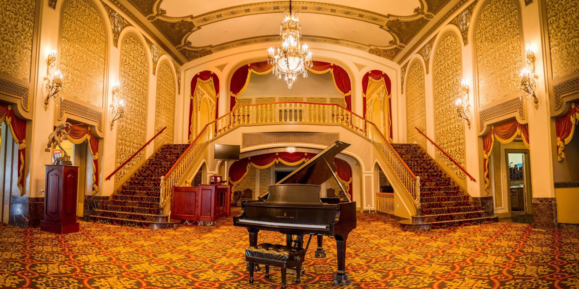 Orpheum grand staircase