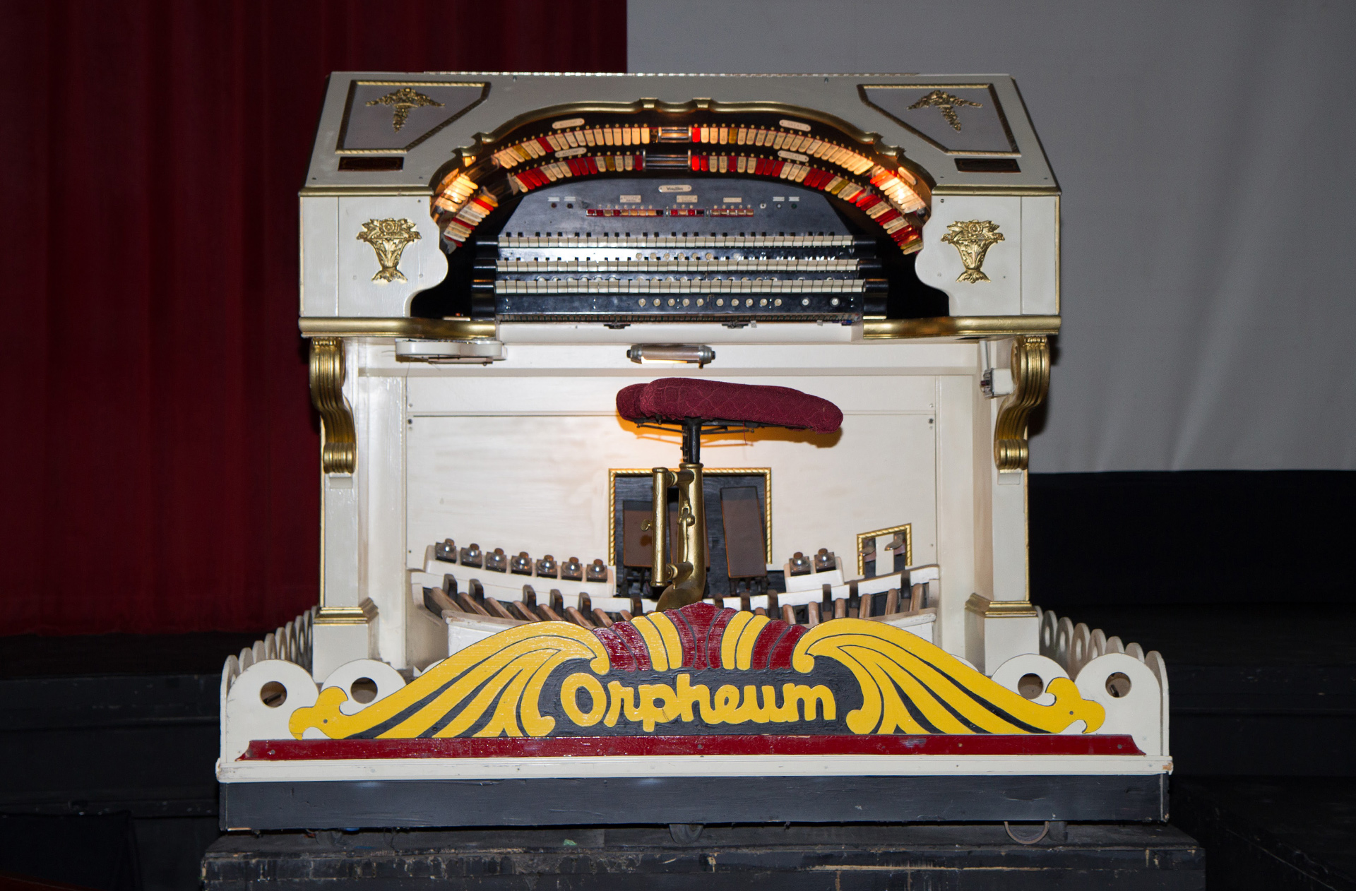 The Mighty Wurlitzer, after its local restorations
