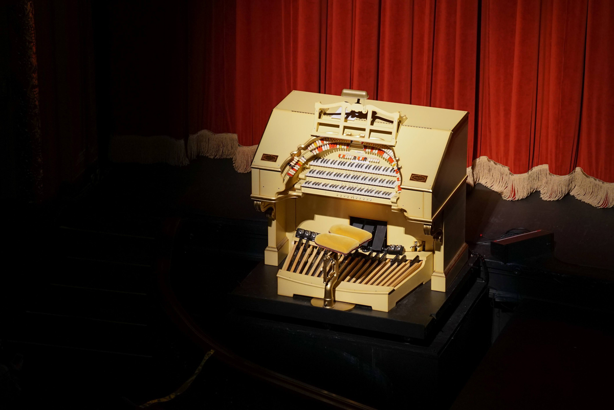 The Mighty Wurlitzer at its homecoming concert in 2020