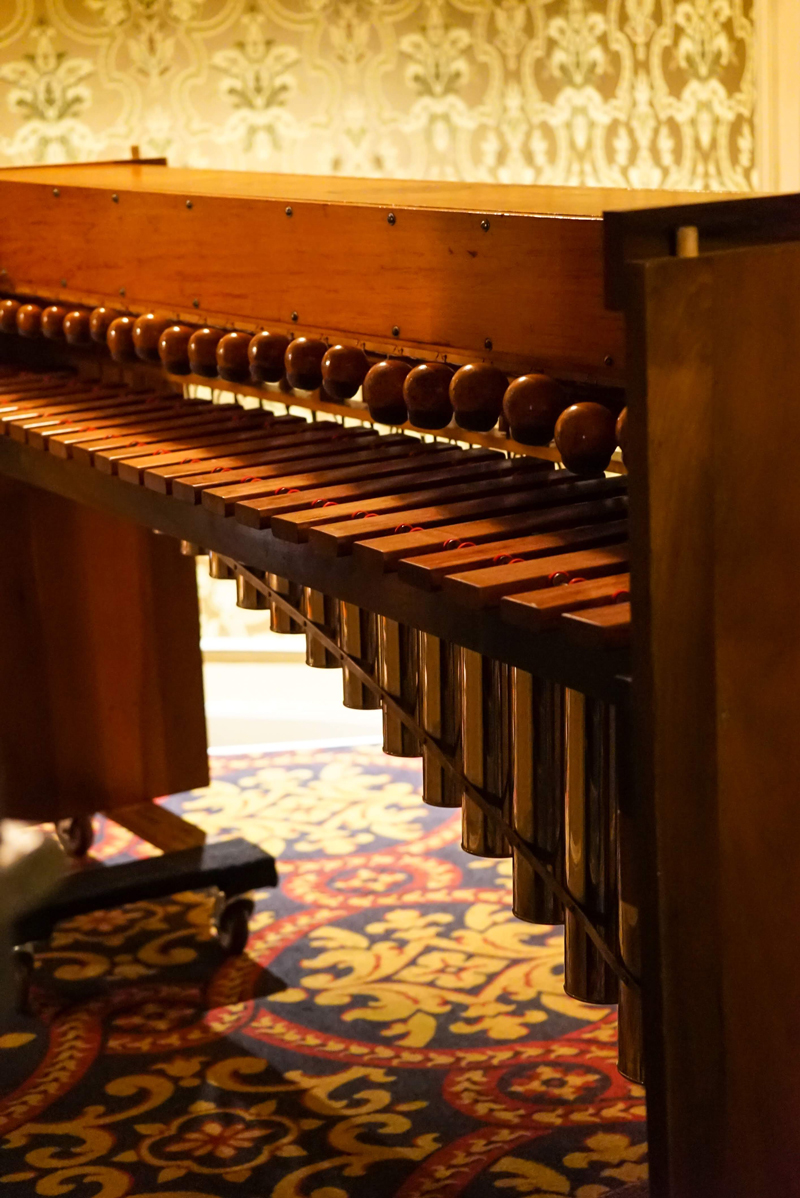 The Mighty Wurlitzer's xylophone
